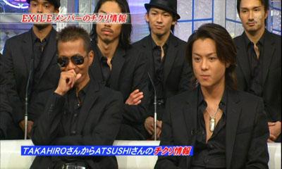 【心配です】EXILE離れが急速に進むATSUSHI、女性関係絡みで TAKAHIROとの確執が原因!?!?