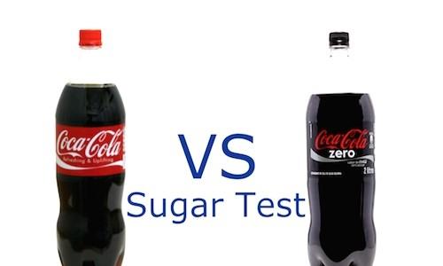 【実験動画】普通のコカコーラと、コカコーラzero。砂糖の量はどれくらい違う?