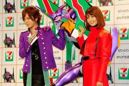 DAIGOと加藤夏希が1600万円の『エヴァカー』に大興奮!!