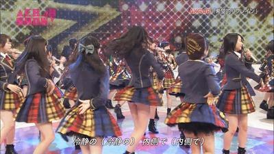 【♡♡♡】NHKでAKBのおしりが完全に丸出しになるハプニング!?