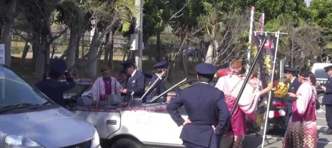 【沖縄】新成人、式場より先に警察へ行く??