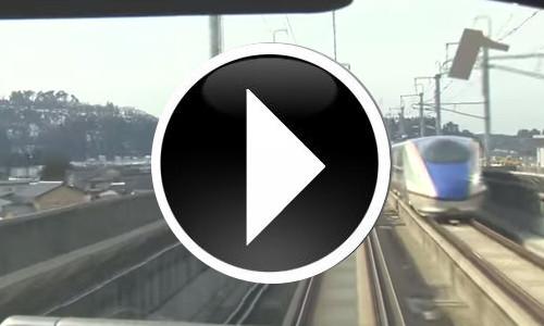 北陸新幹線でGO! 車窓からの動画で旅気分♪
