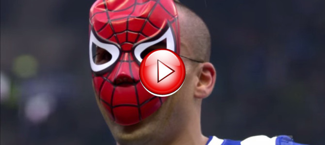 禁止されたマスク着用のゴールパフォーマンスをした裏に隠された、少年との約束とは??