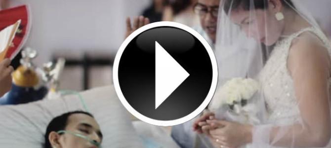最後の願い・・・亡くなる10時間前に挙げられた結婚式が切なすぎる