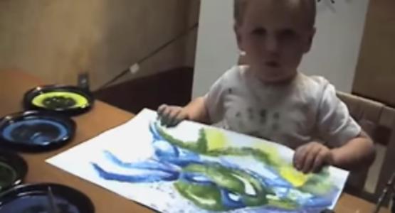 3歳にして見たものを絵に描ける天才アーティスト!?