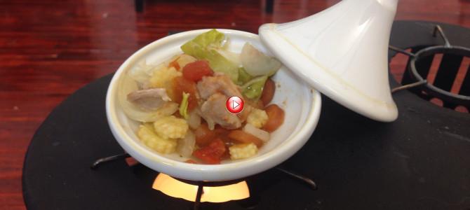 ミニチュア料理 タジン鍋♡