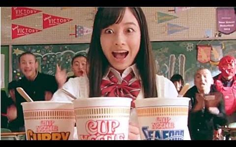 橋本環奈さんが「バカッコイイ」 動画に挑戦!CG・合成一切無しで600回以上のリテイクの末の気合と根性のCM!!