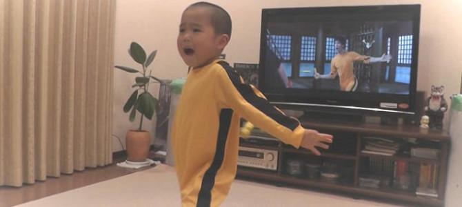 世界が認めた!5歳の少年が演じるブルース・リーのモノマネが凄すぎると話題に!