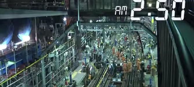 一晩で行った東横線地下化ドキュメンタリー