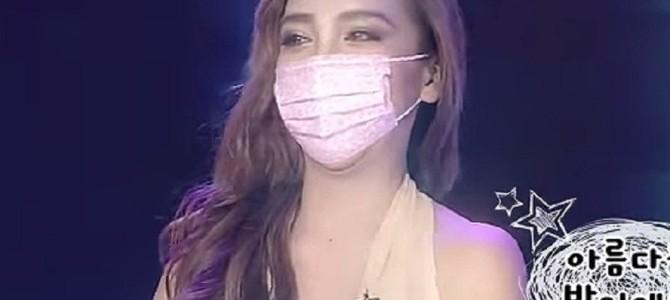 ざわちん、ミランダ・カーのものまねメイクを披露! 韓国のバラエティ番組で大絶賛される