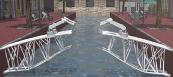3Dプリンターで「橋」を全自動で建設する技術をオランダの企業が開発!