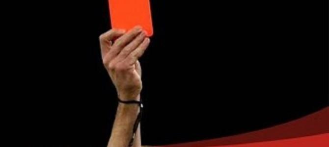 爆笑注意!変なレッドカード トップ10