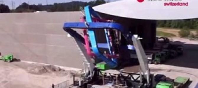 最強の絶叫マシン! まるで宇宙飛行士の訓練のような新型アトラクション!