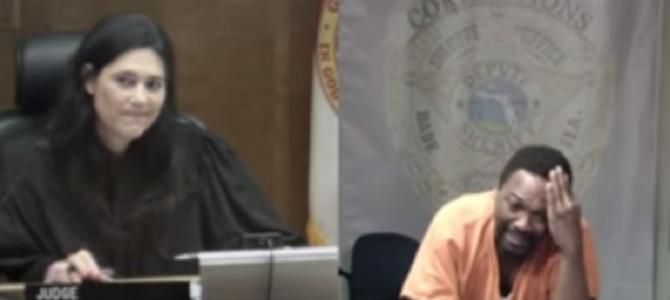 なんと判事と被告人は、中学校時代の同級生!ショッキングな再会に泣き崩れる犯人!!