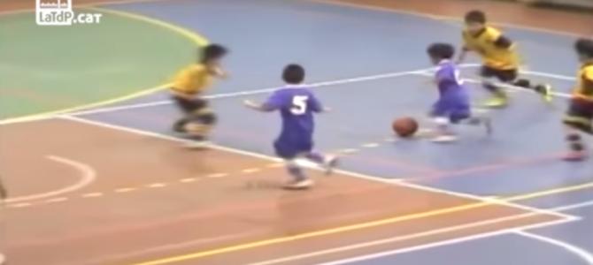 メッシの再来と言われ、世界が注目する天才サッカー少年のプレイが神!
