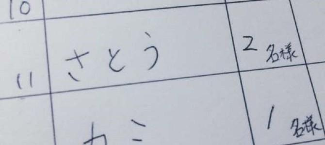 客待ち名簿に「偽名」を書くのは〇人に1人!その理由は?