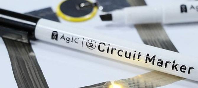 紙の上に線を描くと、そのまま電子回路になる魔法のペンを東大発ベンチャーが開発!