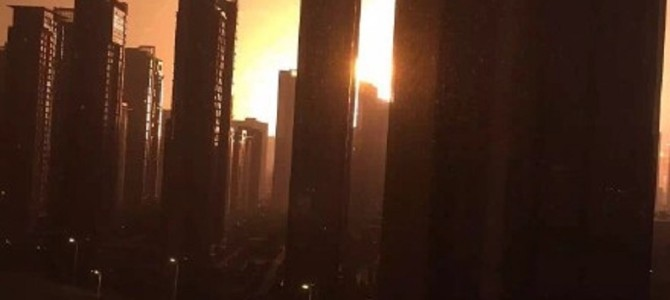 中国・天津市の爆発、こんなに大規模だったとは。