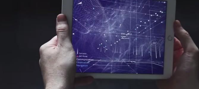 「マトリックス」みたい!無線の電波を視覚化するアプリが凄い!