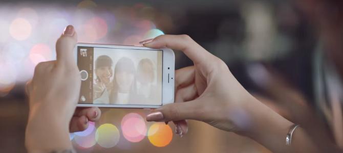 本日発表されたiPhone6S、そのCMになんと○○○が出演!