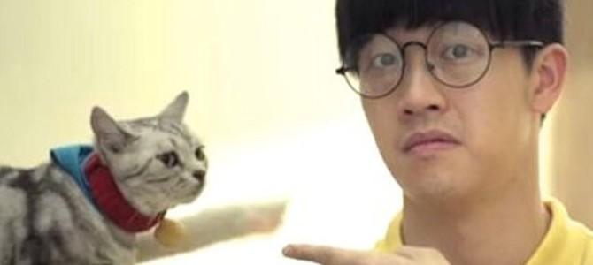 中国の実写版『ドラえもん』が謎すぎる。ドラえもんはリアル猫!?