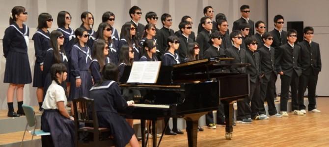 1人の同級生のために…合唱祭でクラス全員がサングラスを掛けたワケとは?