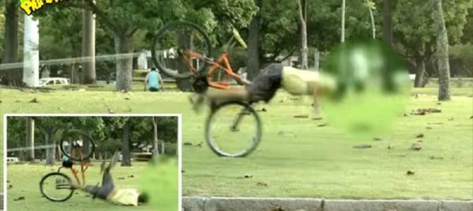 自転車泥棒は鉄拳制裁!ブラジルの自転車泥棒へ対するお仕置きドッキリが完全にやりすぎ!!