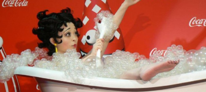 きゃりーぱみゅぱみゅ♡セクシーな入浴ベティちゃんがキュートと話題騒然♡