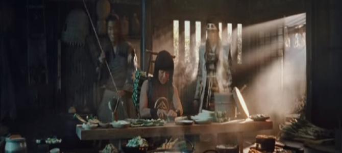 三太郎シリーズの新CMは金太郎が桃太郎と浦島太郎に料理を振る舞う…!?