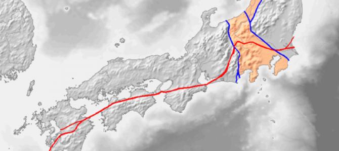 熊本地震の原因である断層が関係する?!中央構造線という断層が日本を横断している?!