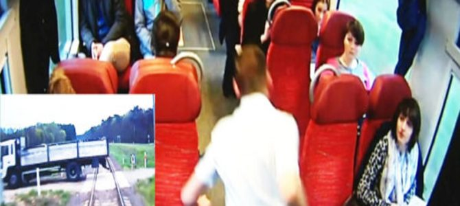 列車衝突の3秒前、乗客に警告して回った運転士がヒーローだと話題に!