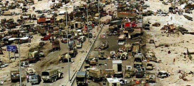 撤退中のイラク兵を狙い民間人もろとも集中爆撃。隠蔽された「死のハイウェイ」