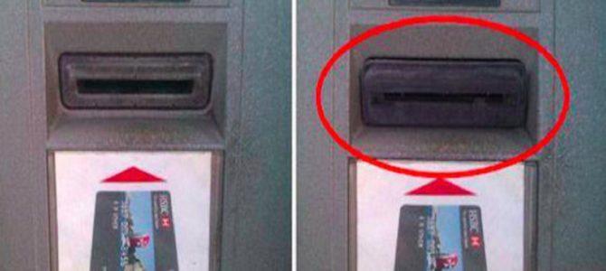 ATMでのクレジットカードをスキミングする手口。その対策とは?