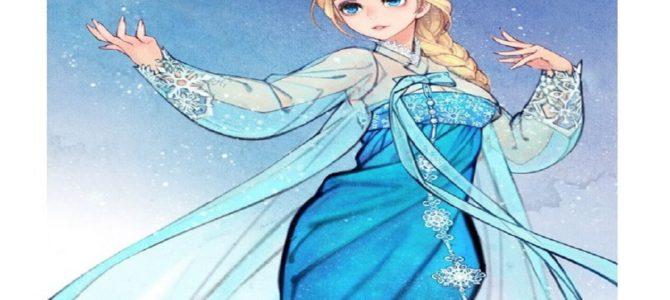 エルサもママに!ディズニープリンセスを母親として描いたファンアートが素敵すぎる!