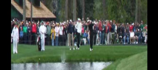 水切りしてカップにイン!ゴルフ史上に残る伝説のミラクルショット!