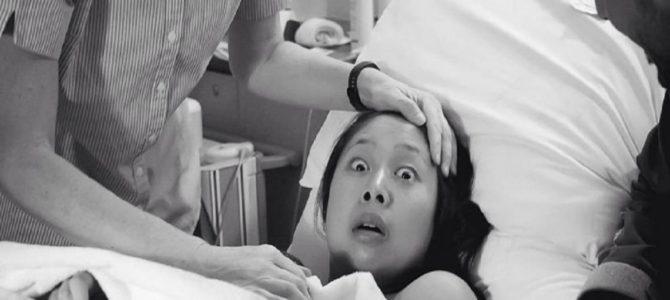 ベイビー誕生の瞬間はプライスレスのサプライズ。日本人ママの表情が海外で話題!