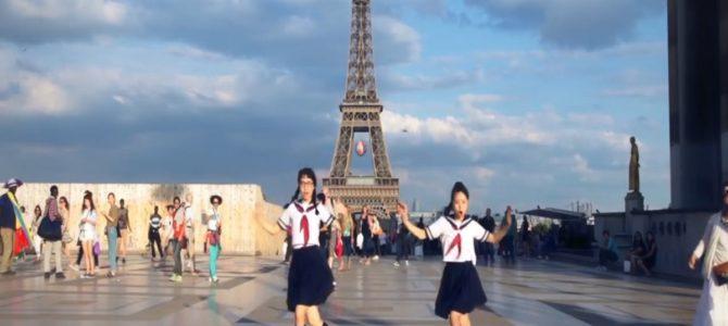 日本の学生が、パリやキューバの街中で突然キレッキレのダンス!