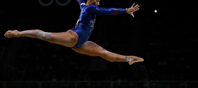 オリンピック選手の足元に注目すると…!