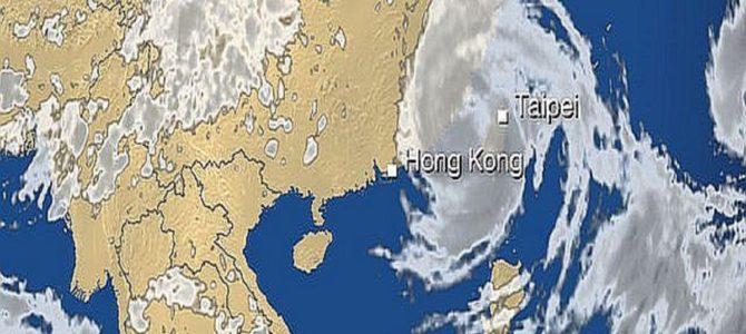 台湾に猛烈な台風が直撃… 灯台消失など多数の被害か?