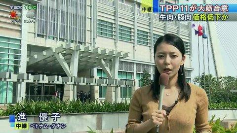 進優子(テレビ朝日) 顔画像は?福田淳一事務次官のセクハラ被害者とバレた?