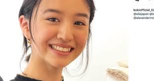 Koki 笑顔ショットの画像が木村拓哉に似てる?