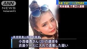 【小西優香さん殺害事件】森翔馬と稲岡和彦の顔画像は?TwitterやFacebookやインスタを調査