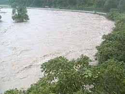 最上小国川 氾濫!動画は?