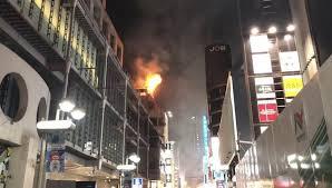 渋谷ハロウィンのビル火事は放火ではない?