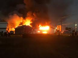 岐阜県海津市の段ボール工場で火事 海津三郷株式会社が炎上