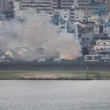 大阪市西淀川区花川で火事