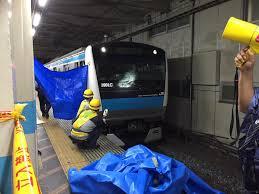 京浜東北線の西川口駅で人身事故