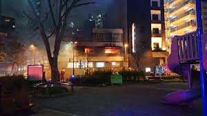 東京都北区王子の新井歯科医院で火事