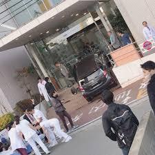 福岡県福岡市東区和白丘2丁目の福岡和白病院に(AQUA・アクア)が突っ込む事故