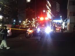 【人が転落?】東京都目黒区上目黒の目黒川に大量の緊急車両